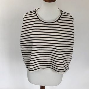 Free People We The Free Top Side Splits  Striped S